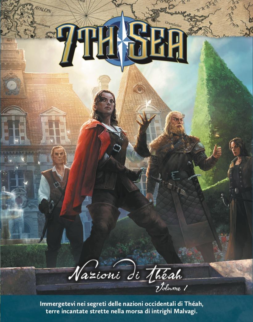 Nazioni di Théah vol.1