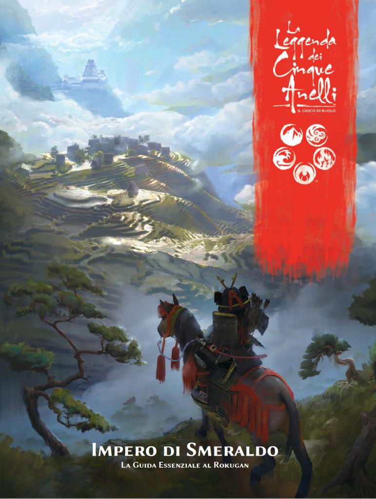 La Leggenda dei Cinque Anelli - Impero di Smeraldo Cover